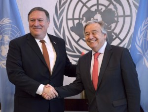 Pompeo pide al Consejo de Seguridad mantener la presión sobre Corea del Norte