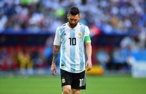 Messi no jugará con Argentina los amistosos de 2018, según la prensa local