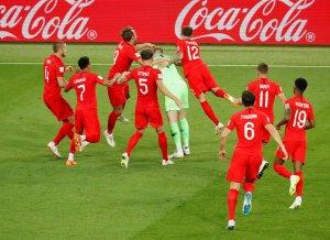 En FOTOS: Inglaterra acabó con las esperanzas de Colombia desde los penales en #Rusia2018