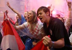 Festejo por el triunfo en el Mundial causó un pequeño sismo en Croacia