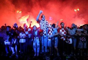 Festejo en Croacia por su pase a la final del Mundial causó leve temblor