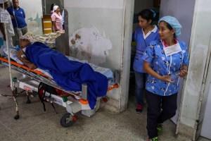 En medio de las protestas, así se encuentra el Hospital Clínico Universitario #4Jun (Fotos y Video)