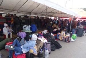 Emergencia migratoria: 4.200 venezolanos llegan al día a Ecuador