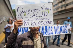 Se multiplican las protestas gremiales por crisis en Venezuela (Fotos)