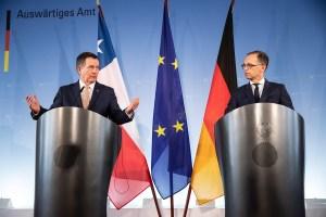 Alemania y Chile advierten sobre las crisis en Nicaragua y Venezuela