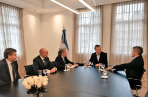 Almagro entregó a Macri informe sobre crímenes de lesa humanidad en Venezuela