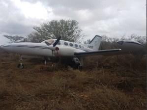 En Falcón seis personas fueron detenidas tras la incautación de una avioneta narco