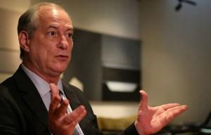 El candidato Ciro Gomes promete combatir los privilegios y la corrupción en Brasil