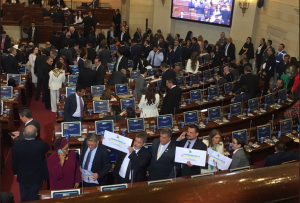 Santos instala nuevo Congreso de Colombia  2018 – 2022