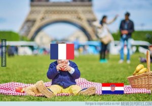 Los mejores memes del triunfo de Francia sobre Croacia en la gran final