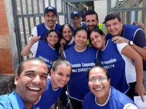 Directv celebró la semana del voluntariado, beneficiando a las 400 personas