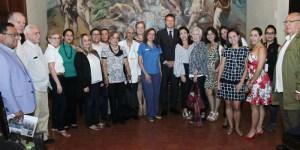 StopVIH sostuvo encuentro con Encargado de Negocios de Suiza en Venezuela