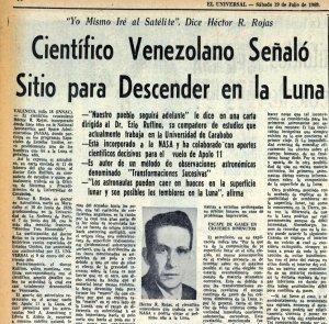 Este venezolano fue uno de los secretos de la Nasa para llegar a la Luna (fotos)