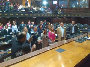 Juramentan a diputada roja rojita ante la Asamblea Nacional
