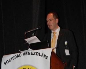 El doctor Franzo Marruffo nuevo presidente de la Sociedad Venezolana de Urología