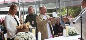 A Dios rogando: Ministro Quevedo pide en misa por la recuperación de la producción de Pdvsa