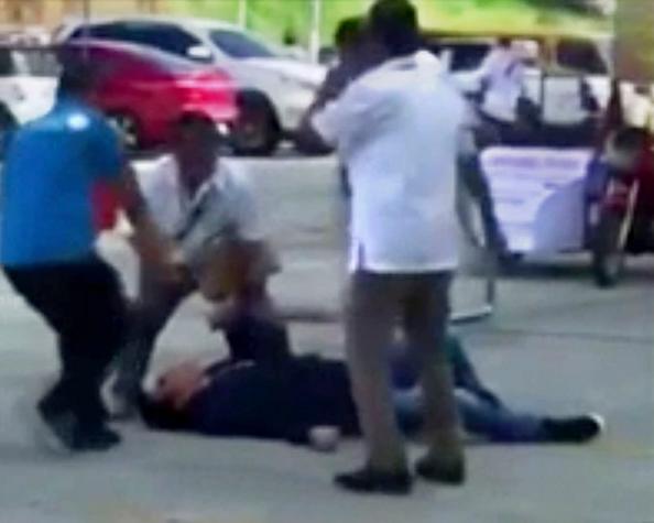 Video impactante: francotirador asesinó a narcopolítico en acto escolar