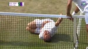 "Tenista hizo un ""Neymar Challenge"" en partido de exhibición de Wimbledon (Video)"