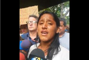 #EscombrosdeMaduro Familiar de paciente del Hospital Universitario rompe en llanto al contar las penurias que sufre