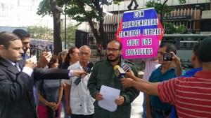 Vecinos de Caracas acusan ante la Contraloría a directivos de Hidrocapital por mega guisos de corrupción
