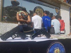 Detienen a banda que robó a médicos cubanos en Ciudad Caribia (fotos)