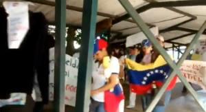 Enfermeras de Carabobo marcha dentro del Hospital Central #30Jul