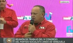 Ni Diosdado se salva de los #EscombrosDeMaduro… se le fue la luz cuando le hablaba a sus súbditos (VIDEO)