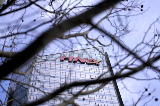 El edificio de oficinas del grupo HNA en Beijing China. JASON LEE  REUTERS