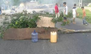 Varios sectores de Bolívar protestaron por falta de agua (fotos)