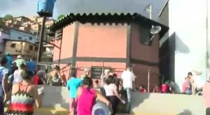 PNB y GNB reprimieron protesta por falta de agua en El Cementerio #18Jul (VIDEO)