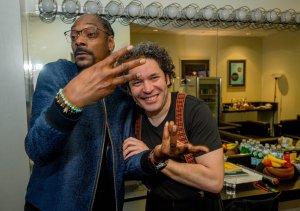 Snoop Dogg conoció a Gustavo Dudamel (Video)