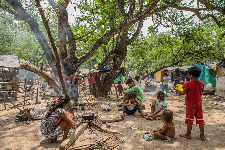 Comunidad indígena Yukpa huyó del régimen de Maduro en busca de arroz (Fotos)