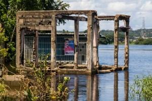 San Félix sufre el golpe por crecida del río Orinoco #15Ago