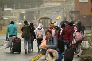 Huir como sea de Venezuela: Un viaje de 8000 km a pie hasta Argentina