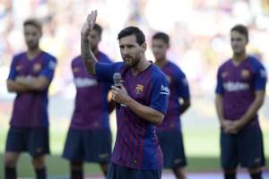 Messi: Haremos todo lo posible para que la Champions vuelva al Camp Nou