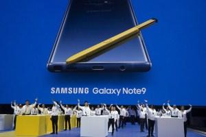 Samsung devela su nuevo teléfono inteligente, con memoria reforzada (Fotos)