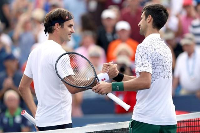Resultado de imagen de Djokovic vence a Federer