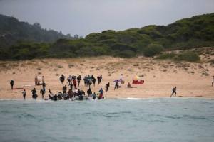 Rescatados 361 inmigrantes cuando intentaban llegar a España por mar