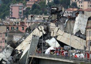 """El puente Morandi que se derrumbó en Génova, """"es un fracaso de la ingeniería """", dice experto"""