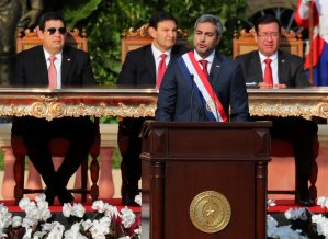 Mario Abdo Benitez denuncia abusos de poder en Venezuela y Nicaragua, al asumir presidencia de Paraguay