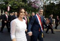 La nueva primera dama de Paraguay es una madurita atrapa-miradas (Fotos)