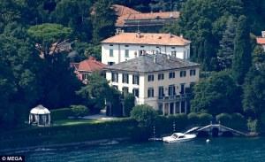 Harry y Meghan pasaron unos días con los Clooney en Italia