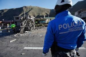 Accidente vial en Ecuador dejó 19 colombianos muertos, según cancillería