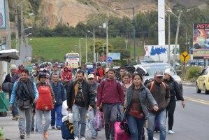 Ecuador reitera compromiso en la protección y garantía de los DDHH de los migrantes venezolanos