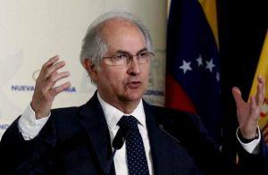 Ledezma en Nueva York: Nuestra lucha presenta resultados positivos con nuevas sanciones contra funcionarios corruptos del régimen
