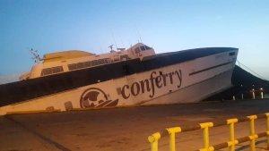 Secuelas del chavismo: Se hunde buque de Conferry en Anzoátegui #7Ago