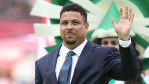 Ronaldo Nazario sigue bien y espera el alta médica