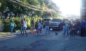 Vecinos de Boconó en Trujillo protestan por falta de agua #13Ago