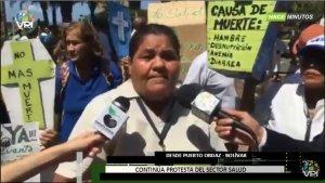 """""""Niños desnutridos están llegando muertos al hospital"""", denuncia enfermera en Bolívar"""