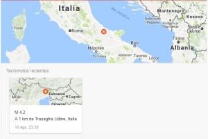 Fuerte temblor de magnitud 4,7 en el centro-este de Italia